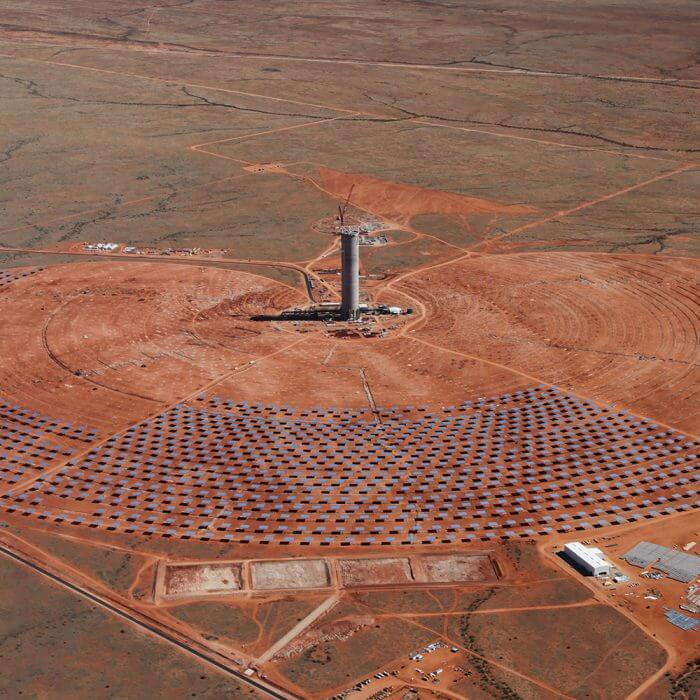 Khi Solar One Tower, South Africa